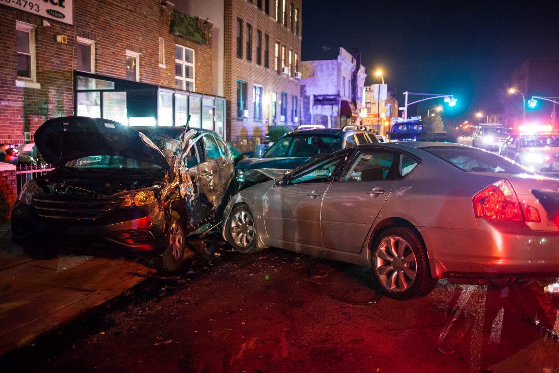 Los accidentes de vehículos